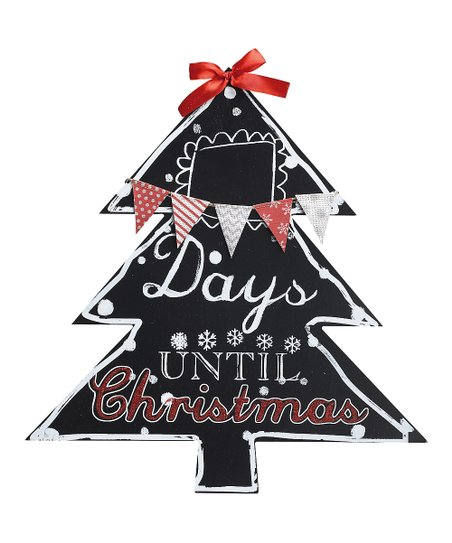 Days Till Christmas Chalkboard.Days Until Christmas Chalkboard Wall Sign