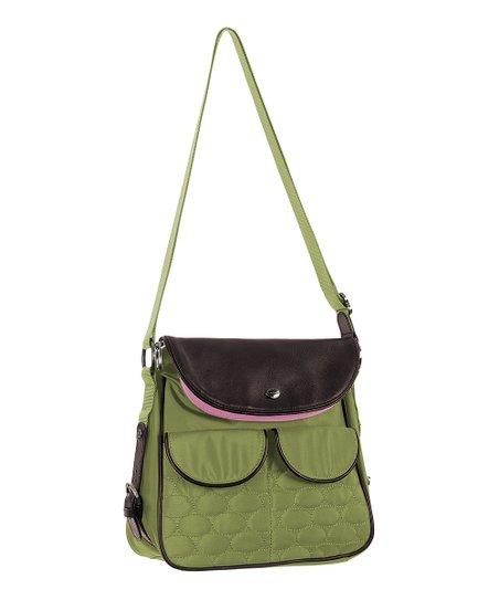 Mosey Fern Wink Crossbody Bag Zulily