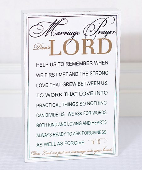 For newlyweds prayer marriage Prayer For