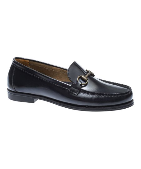 e0679619cdc Sebago Black Plaza Bit Leather Loafer - Women