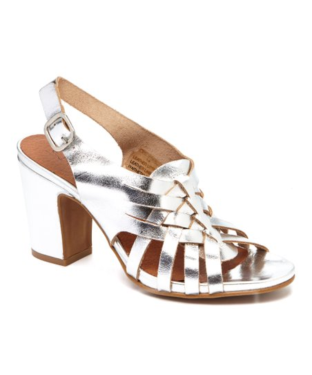 36ba124d1 love this product Silver Heather Leather Sandal