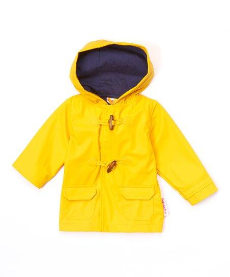 Paddington Bear Yellow Hooded Toggle Rain Jacket - Infant   Toddler ... e69a82c6c8fe