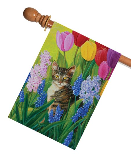 Toland Home Garden Tomcat Tulips Flag Best Price And Reviews Zulily