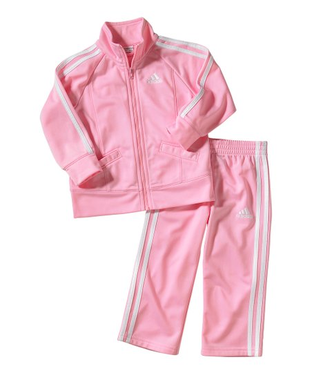 8bcc2c6ad love this product Light Pink Track Jacket & Pants - Toddler & Girls