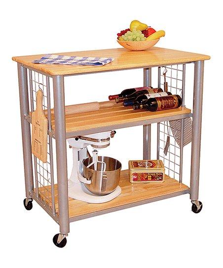 Catskill Craftsmen, Inc. Contempoary Kitchen Cart | Zulily