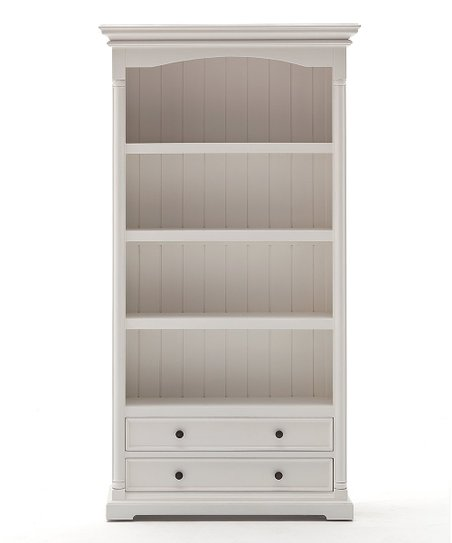 Love This Product White Mahogany Bookcase