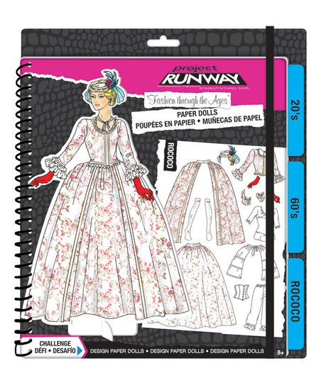 Fashion Angels Project Runway Fashion Through The Ages Paper Doll Kit Best Price And Reviews Zulily