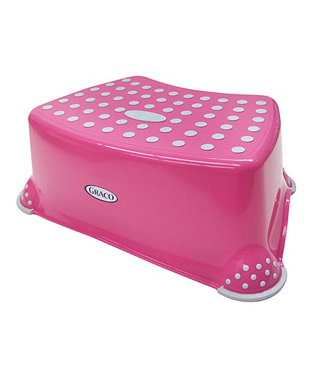 Pleasant Graco Pink Deluxe Step Stool Zulily Gmtry Best Dining Table And Chair Ideas Images Gmtryco