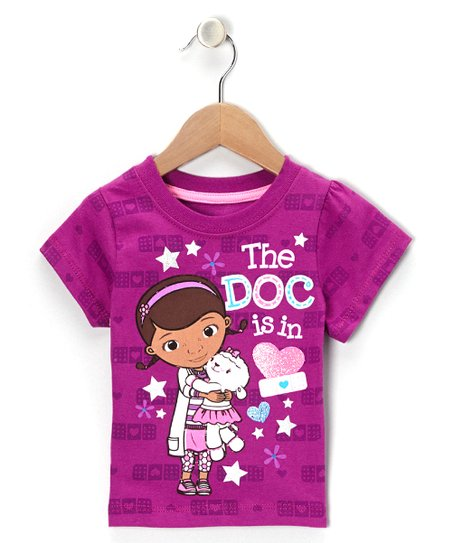 7924727b3222 Disney Junior Purple Doc McStuffins The Doc is In Tee - Toddler ...