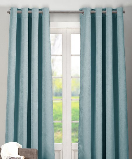 Love This Product Slate Blue Quincy Blackout Curtain Panel Set Of Two
