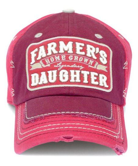 9bf1a48e7e493 love this product Red  Farmer s Daughter  Baseball Hat