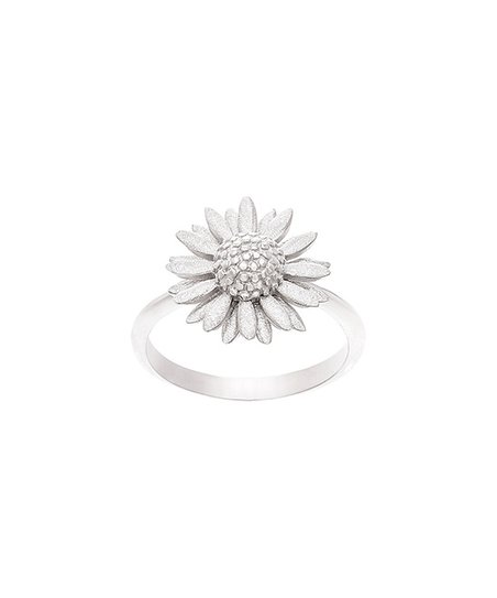 8a42e8057 love this product Sterling Silver Sunflower Ring