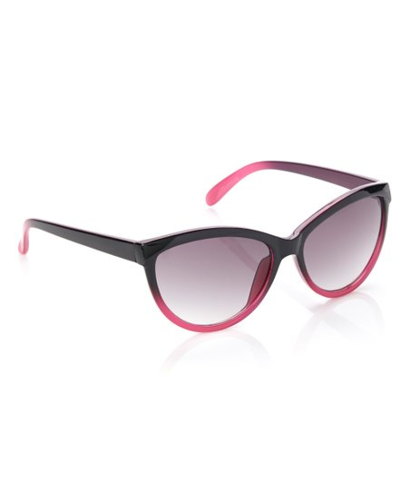 9af88136989 love this product Pink   Black Ombré Cat-Eye Sunglasses