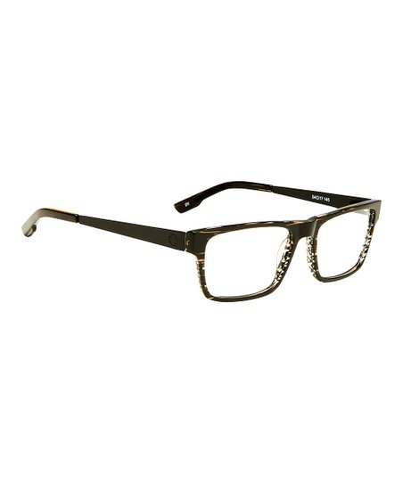 6f166fa9490 Spy Optic Black Stripe Nate 54 Eyeglasses - Men