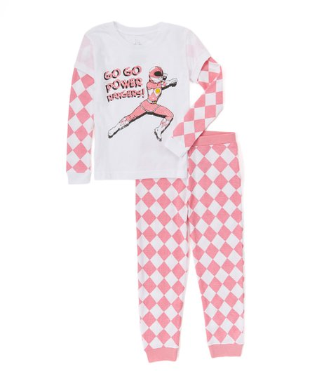 5d7dc3dd13 love this product Power Rangers Pink Thermal Pajama Set - Girls