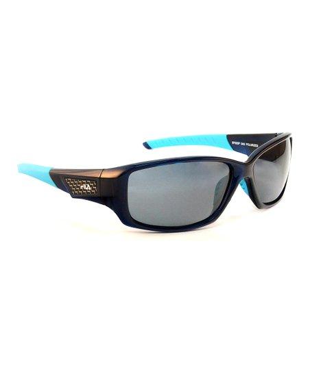 bcc13bdcceb love this product Blue   Smoke Polarized Sunglasses - Men