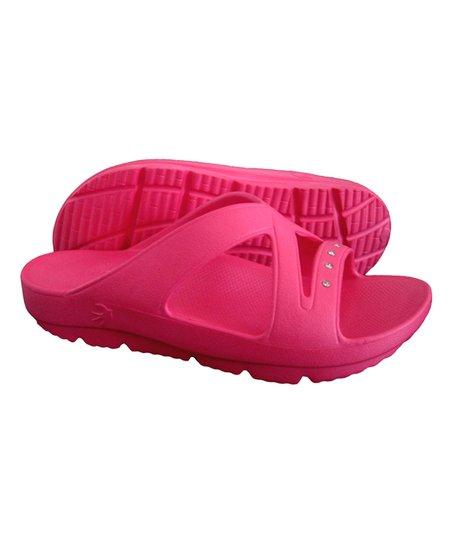 7ee8f11da02299 Tenzi Footwear Hot Pink Rhinestone Heavenly II Sandal - Women