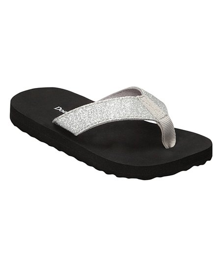sparkle flip flops