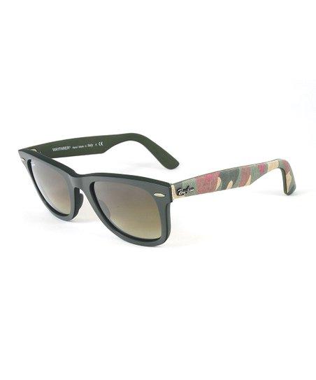 878e97250eede love this product Military Green Matte Wayfarer Sunglasses