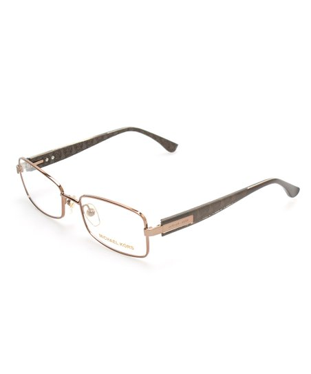 219ade9194c love this product Taupe   Gold Full-Rim Eyeglasses