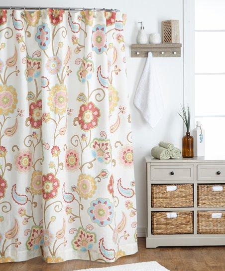 Ashbury Spring Shower Curtain
