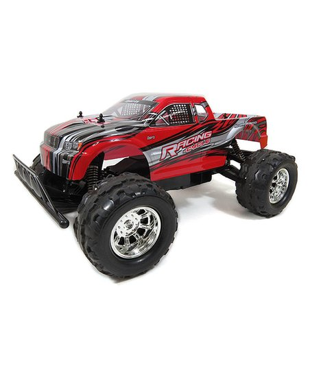 AZ Trading and Import Red Remote Control 4WD Big Monster Truck Toy