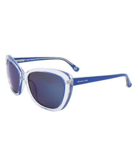 707648fc6ea7 Michael Kors Navy Blue Sabrina Sunglasses | Zulily