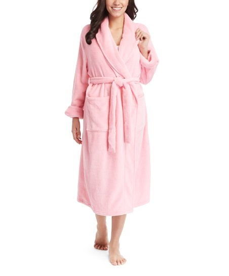 717bf19cbd Leveret Light Pink Plush Fleece Robe - Women