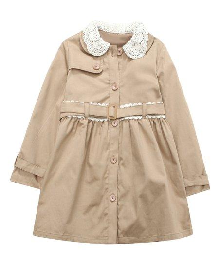 9025b236 Richie House Cream Peter Pan Collar Jacket - Toddler & Girls | Zulily