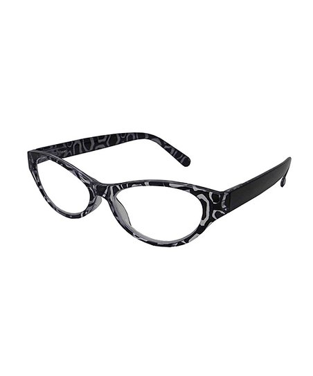 3dab8350bc I Heart Eyewear Black   White Figaro Geo Eye Candy Readers