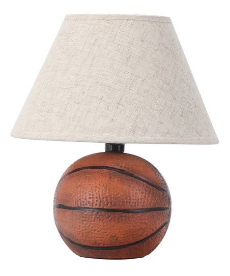 Weathered Basketball Lamp
