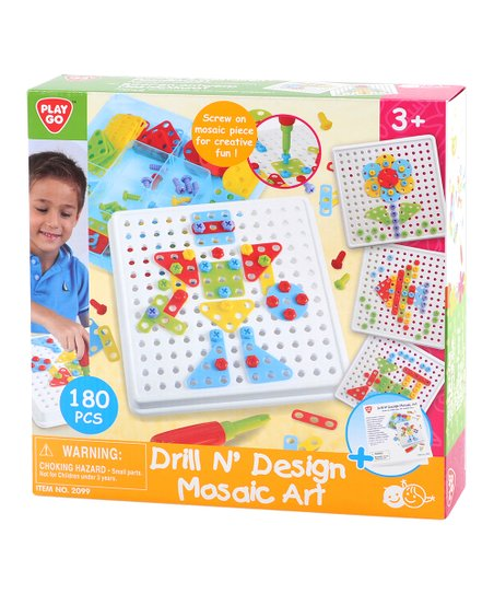 Playgo Create Screw Mosaic Building Kit Zulily