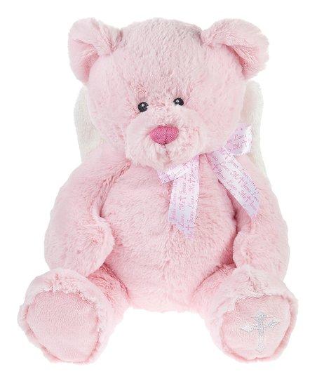 Ganz Pink Jesus Loves Me Bear Plush Toy Zulily
