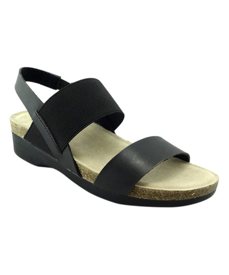d658637b5174a Mootsies Tootsies Black Sprucee Strap Sandal