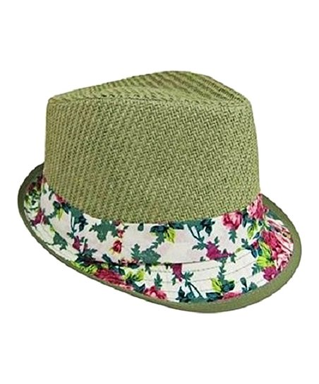 love this product Olive Floral Fedora c9ff434e4ae
