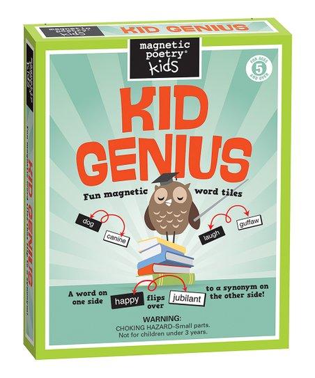 Kid Genius Magnet Learning Kit