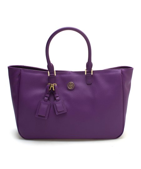 dd05e6ec980a love this product Violetta Roslyn Leather Tote