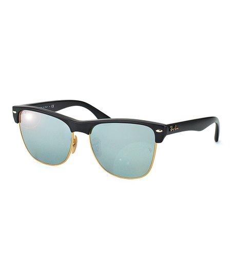 6e1c16105c Ray-Ban Green Mirror Clubmaster Fleck Sunglasses - Unisex