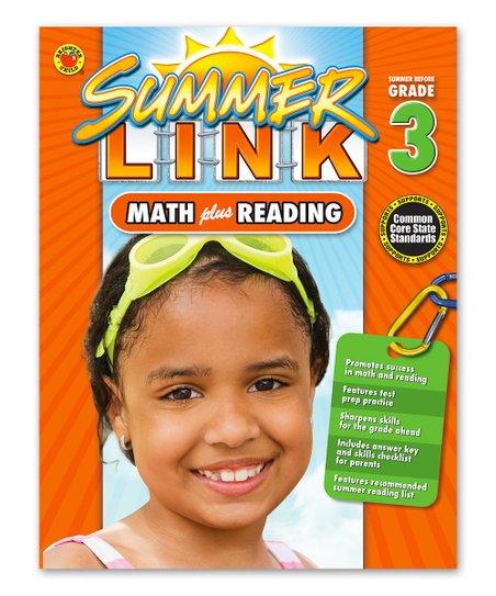 Carson Dellosa Math Plus Reading: Grade 3 Workbook