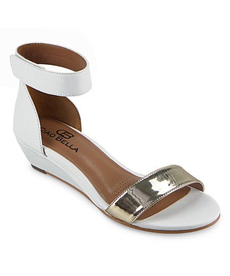 efd358ab2 love this product White Wilson Leather Wedge Sandal
