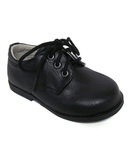 Aadi Black Dress Shoe Boys Zulily