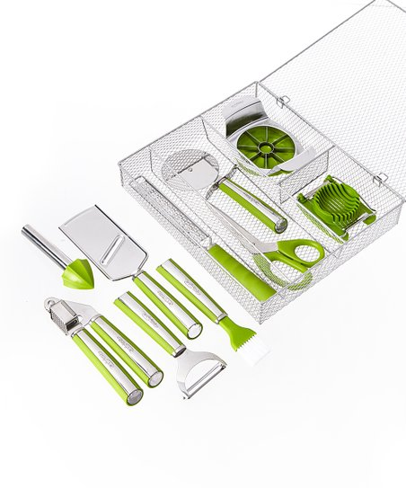 Wolfgang Puck Green 11-Piece Complete Kitchen Tool Kit | Zulily