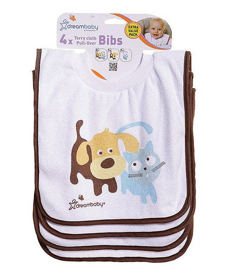 love this product White Pet Friends Pull-Over Bib - Set of Four 6e289a1d9a