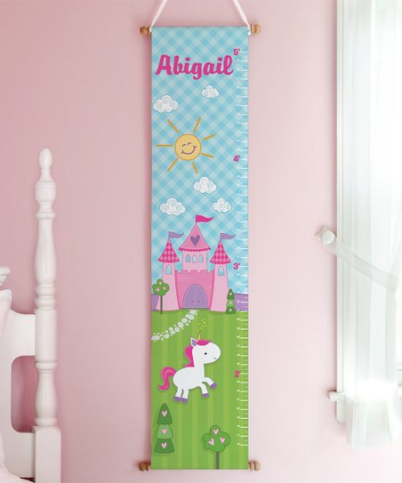 Personalized Planet Princess Castle Personalized Growth Chart Zulily