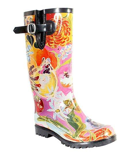 4f0d28b4db1d Nomad Footwear I Love You Mom Puddles III Rain Boot - Women