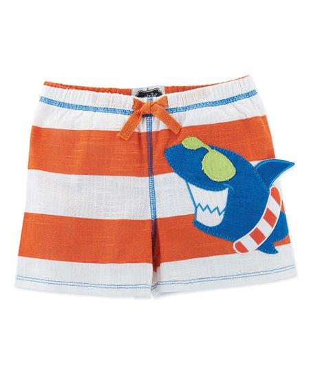 fc20b22da8 love this product Orange Shark Swim Trunks - Infant, Toddler & Boys