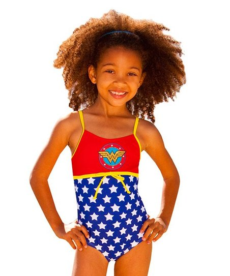 22c7dc80830d8 love this product Red Wonder Woman One-Piece - Girls