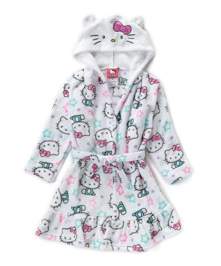 e4895292a0 Hello Kitty Hooded Robe - Toddler   Girls