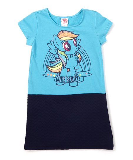 988723cb63 love this product My Little Pony Rainbow Dash  Cutie Beauty  Quilted Dress  - Girls
