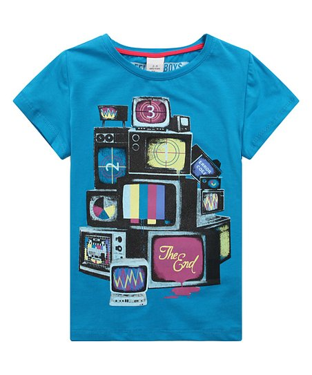 Richie House Blue TV Tee - Infant